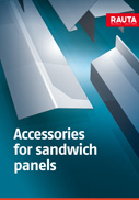 Accessories for sandwich panels