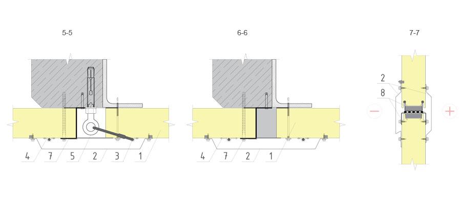 Fasada lekkiej konstrukcji wyjmowanej o płytach warstwowych wertykalnych
