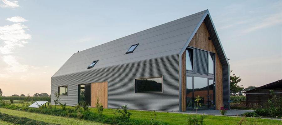 cottage with zero power consumption