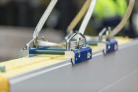 Rauta offers lifting tools for assembling Ruukki sandwich panels
