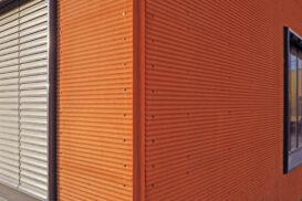 Rauta представила дизайнерські профілі Cor-Ten для облицювання вентильованих фасадів